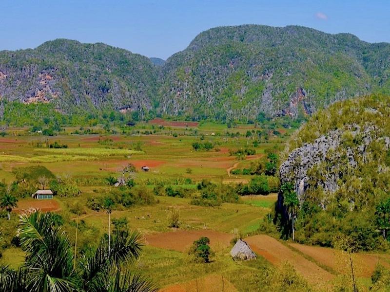 Ausblick auf das Vinales-Tal