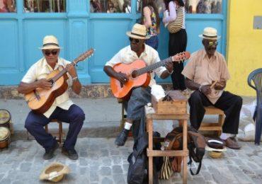 Musiker in Kuba